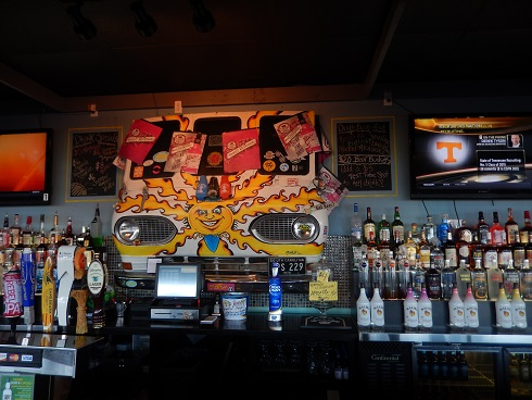 Moe Moons Bar - One of the coolest displays on the boardwalk