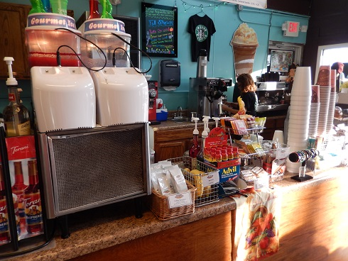 Boardwalk Coffee House is a simple little deli insideBoardwalk Coffee House Deli