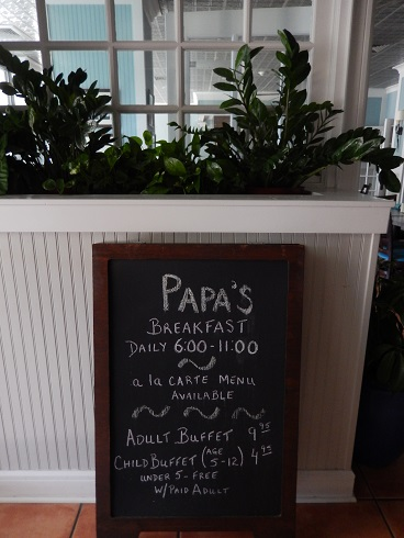 Papas Restaurant At Breakers Resort