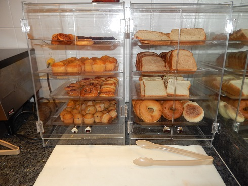 Bagels, breads and muffins