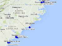 Charleston Cruise Ship Tracker