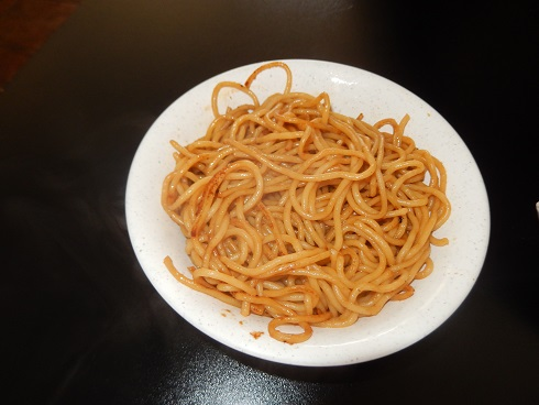 The Noodles were cooked properly, fair priced with good flavor