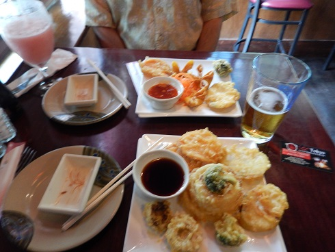 Appetizers at Lil Tokyo Sushi Restaurant