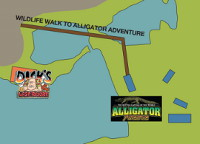 Alligator Adventure Map Listing at Barefoot