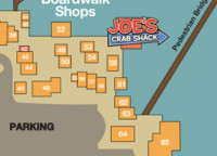 Joe's Crab Shack Map Listing at Barefoot