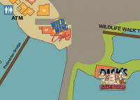 Wild Wing Cafe Map Listing at Barefoot