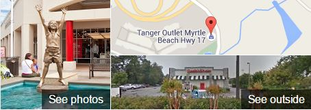 Tanger Outlet Myrtle Beach Hwy 17 Google Map