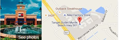 Tanger Outlet Myrtle Beach Hwy 501 Google Map