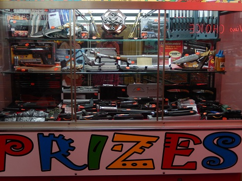 On the Myrtle Beach Boardwalk the Fun Plaza Try your luck and skill to can win lots of prizes