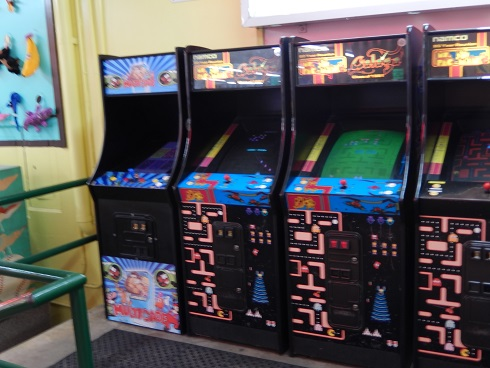 Classic Namco Games in one digital arcade Pacman, Galaga and more