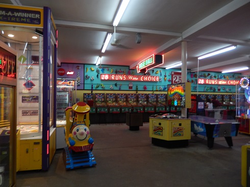 Classic fun child ride, lots of room to move in the Fun Plaza
