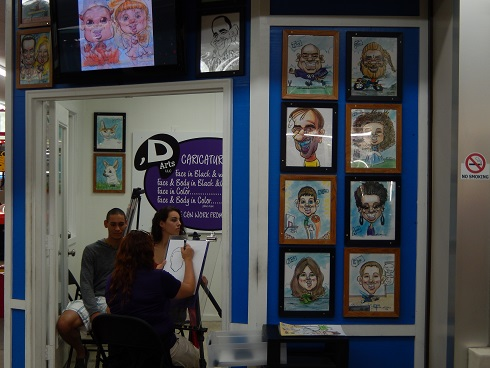 Fun Plaza ,D Caricature Arts, Get your own Caricature