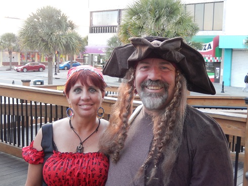 Locals Dress up and go to Fright Night in Myrtle Beach