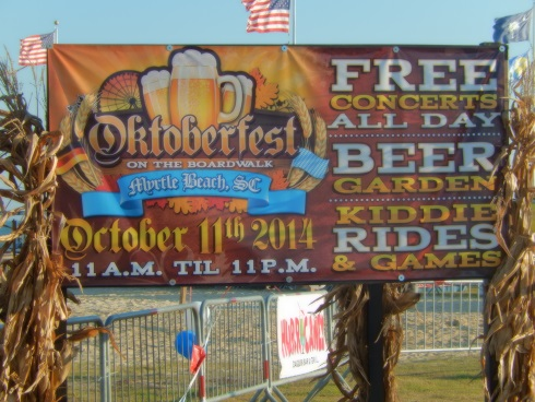 Myrtle Beach Octoberfest, Free Concerts All Day Beer Garden - Kiddie Rides & Games - 11AM-11PM