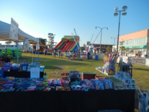 Myrtle Beach Octoberfest The Prizes are ready for the Kids Games