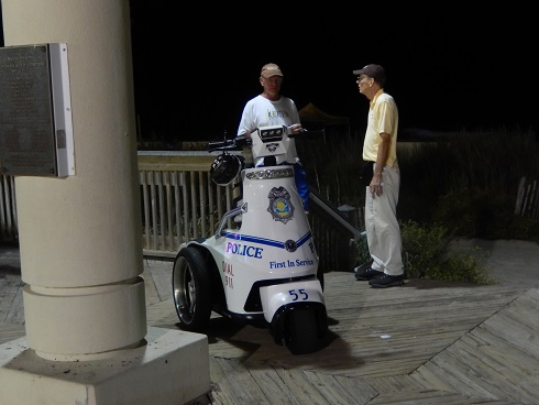 Myrtle Beach Octoberfest Security Local Police monitor Octoberfest and the boardwalk