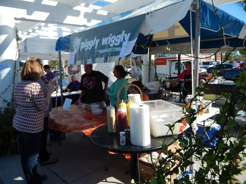 Piggly Wiggly at the Winefest The Market Common Piggly Wiggly is best in the country