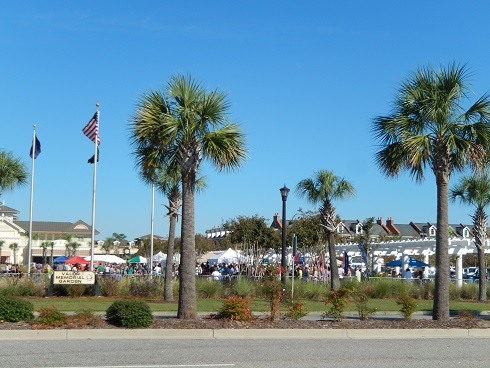 View of the Winefest In Myrtle Beach