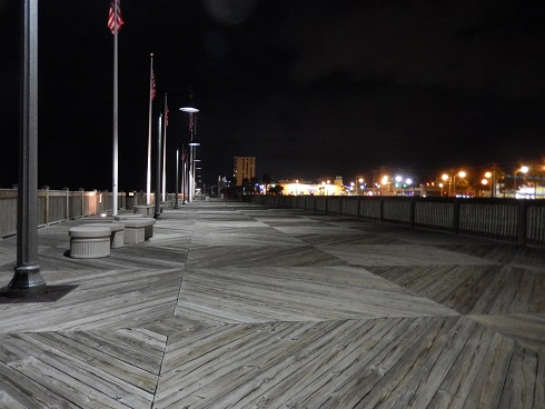 Myrtle Beach Boardwalk View