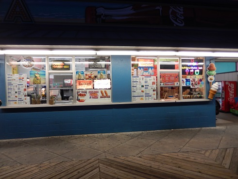 Myrtle Beach Boardwalk Ice Cream and Hot Dogs