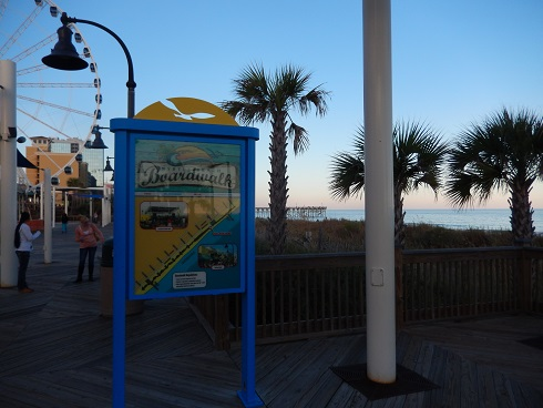 Myrtle Beach Boardwalk You Are Here