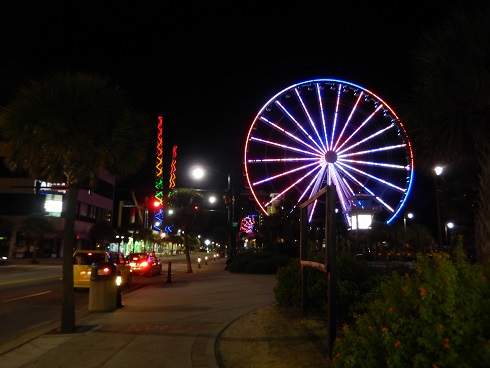 Myrtle Beach Boardwalk Lots Of Free Seating On The
