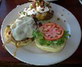 Great food selections at TBonz and Grill Steak House