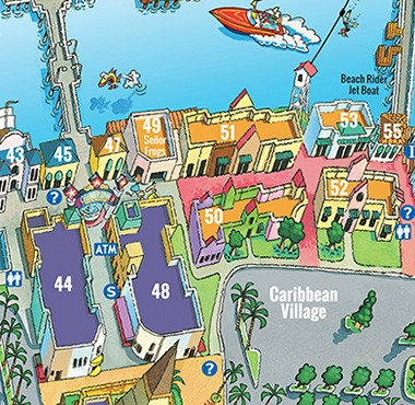 Map Myrtle Beach Boardwalk The Best Beaches In World